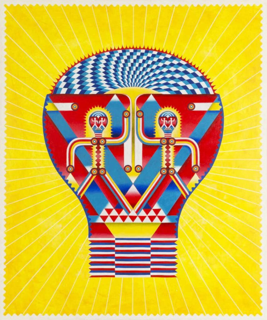 Yu Maeda Lightbulb head Superchief Gallery