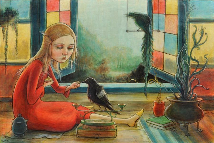 Kelly Vivanco painting