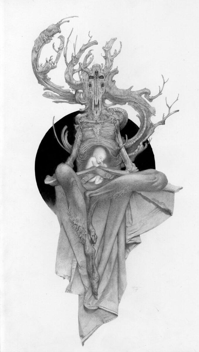 Allen Williams Surreal Graphite Drawing