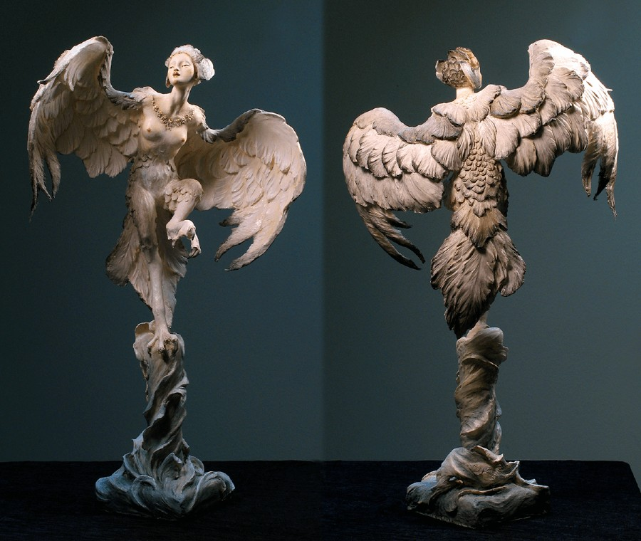 Forest Rogers Surreal Figurative Sculpture