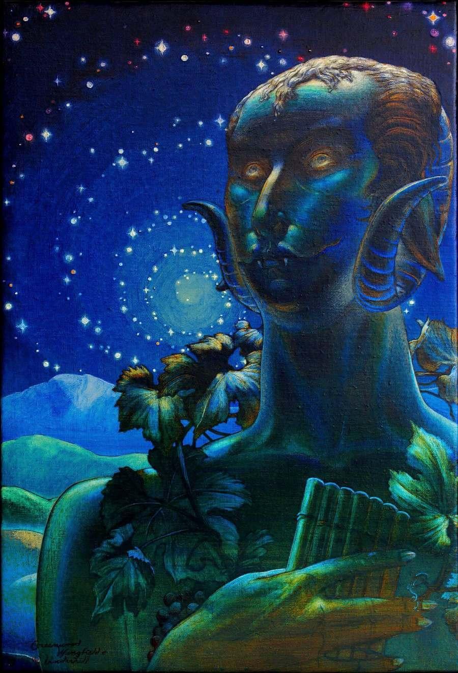 Lou P. Rogers Fantasy Art Oil Painting