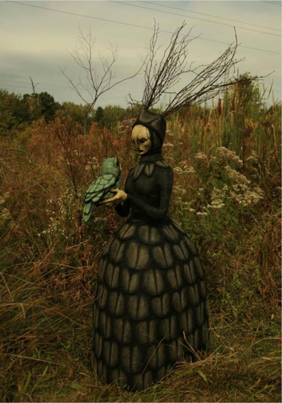 Scott Radke Dark Art Figurative Sculpture