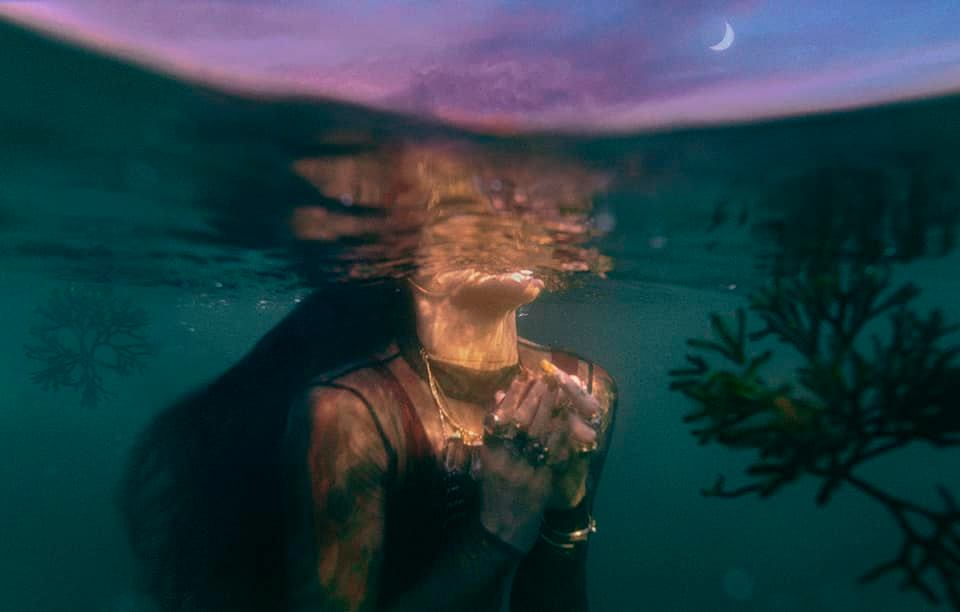Beth Mitchell 'Moon Shadow II'