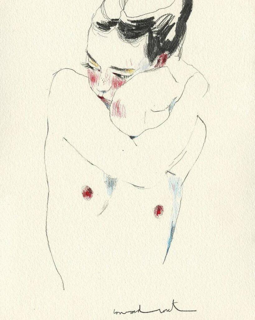 Conrad Roset illustrative figurative art