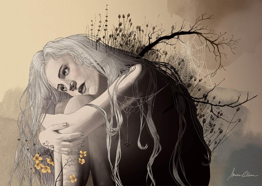 'Apathy', Digital painting/drawing by Madartia