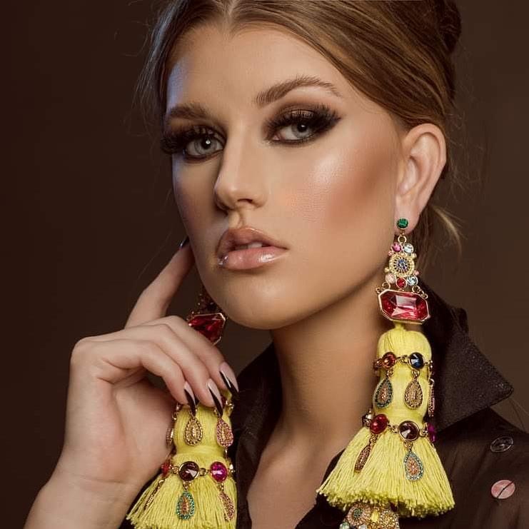 Bird-Skin-Tassel-Earrings