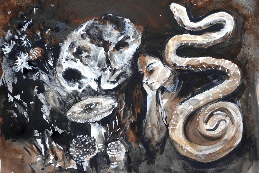 Ekaterina-Popova-Watercolor-Sleep