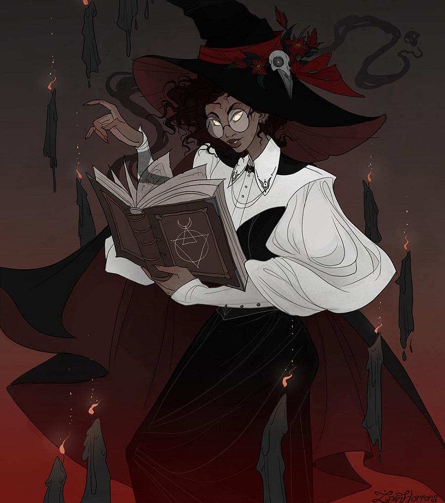 IrenHorrors witch