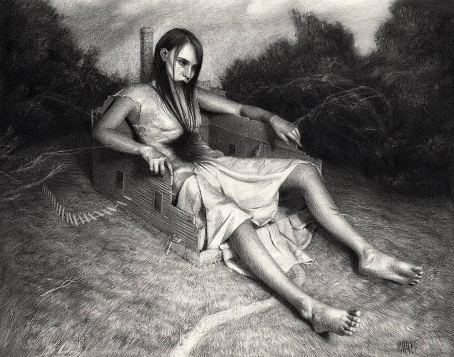 Meagan Magpie Rogers dark art