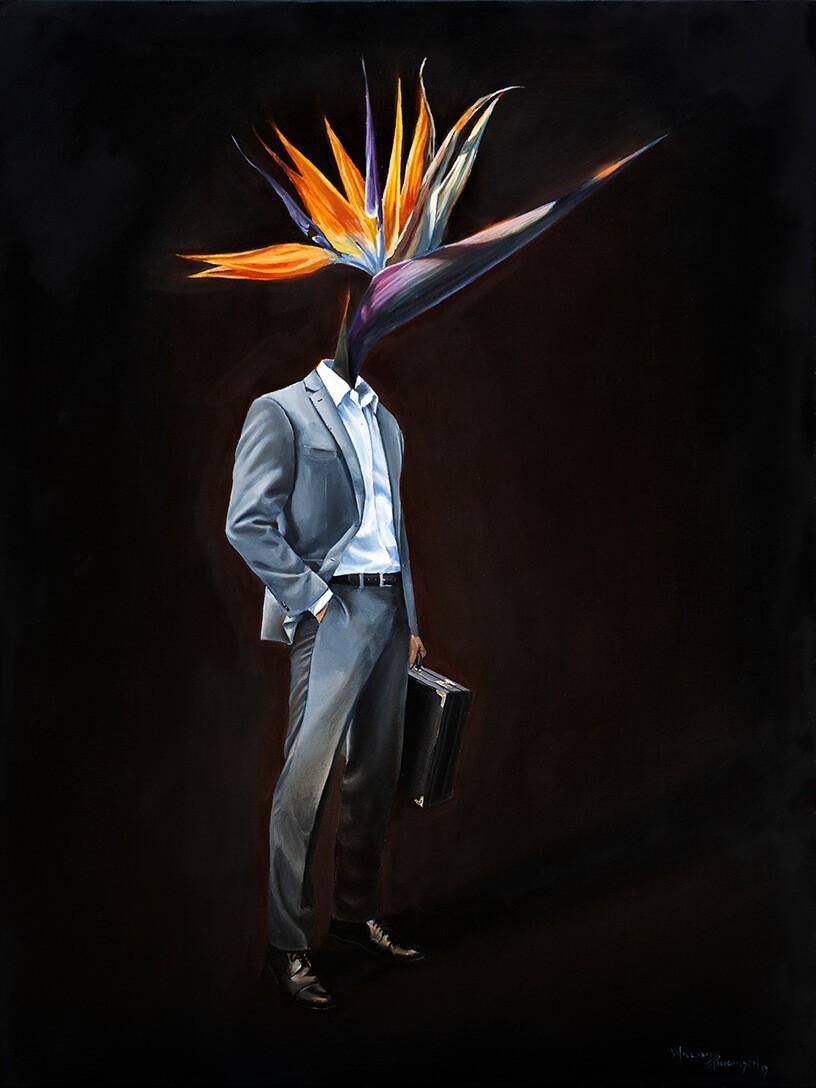 William-D-Higginson-Bird-Of-Paradise
