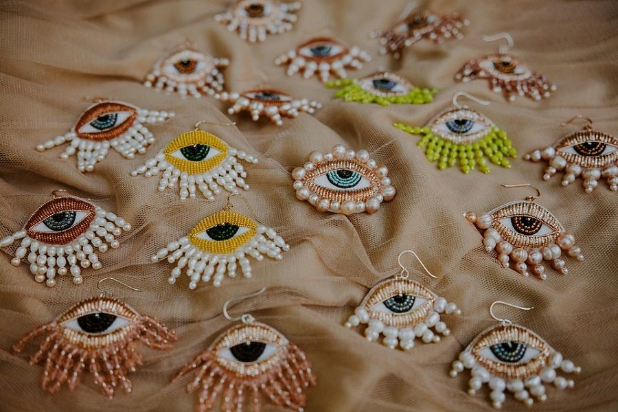 Carly Owens embroidery wearable art