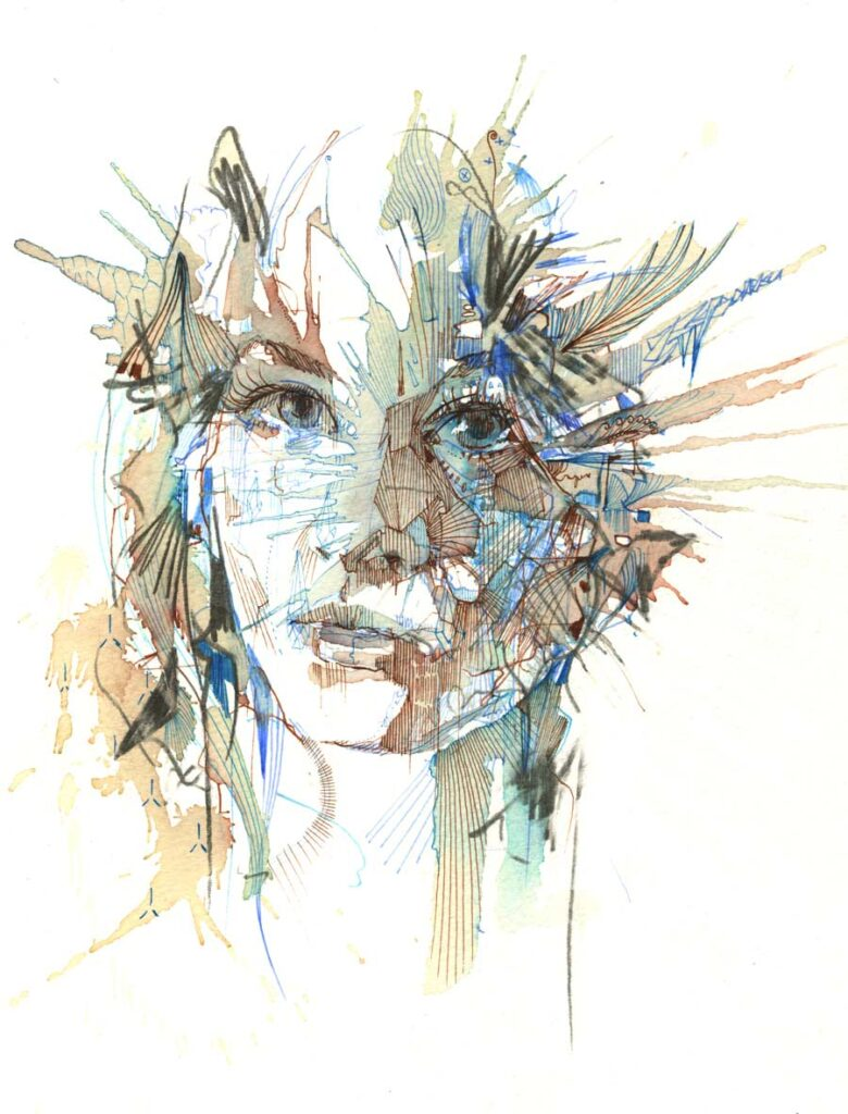 Carne Griffiths Stepping Back