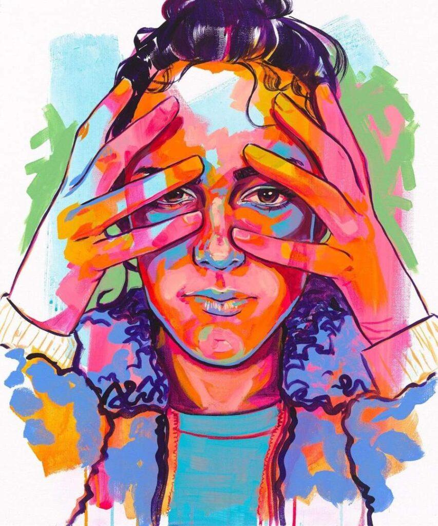 The-Tracy-Piper-Acrylic-Portrait