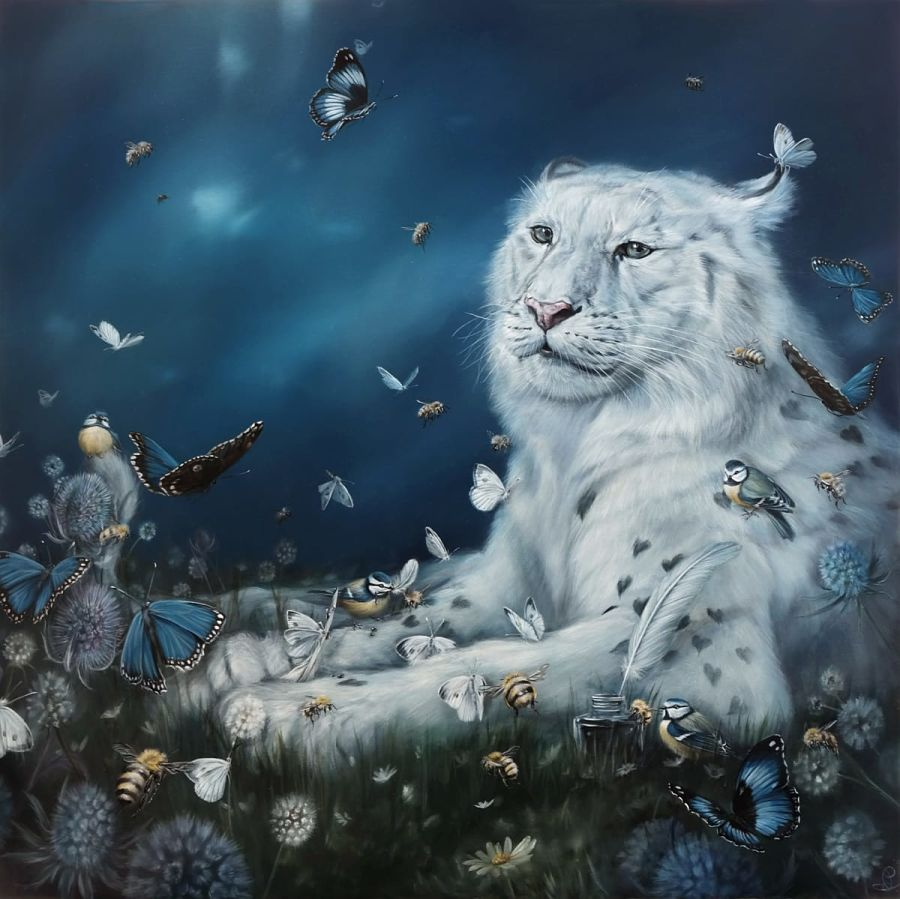 """Dewi Plass, """"Love Letters to a Wild Heart""""Haven Gallery"""