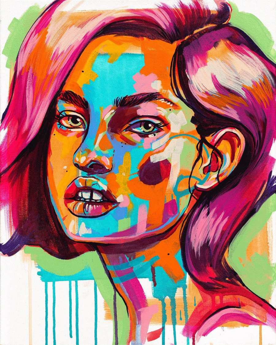 the-tracy-piper-colorful-painting-woman