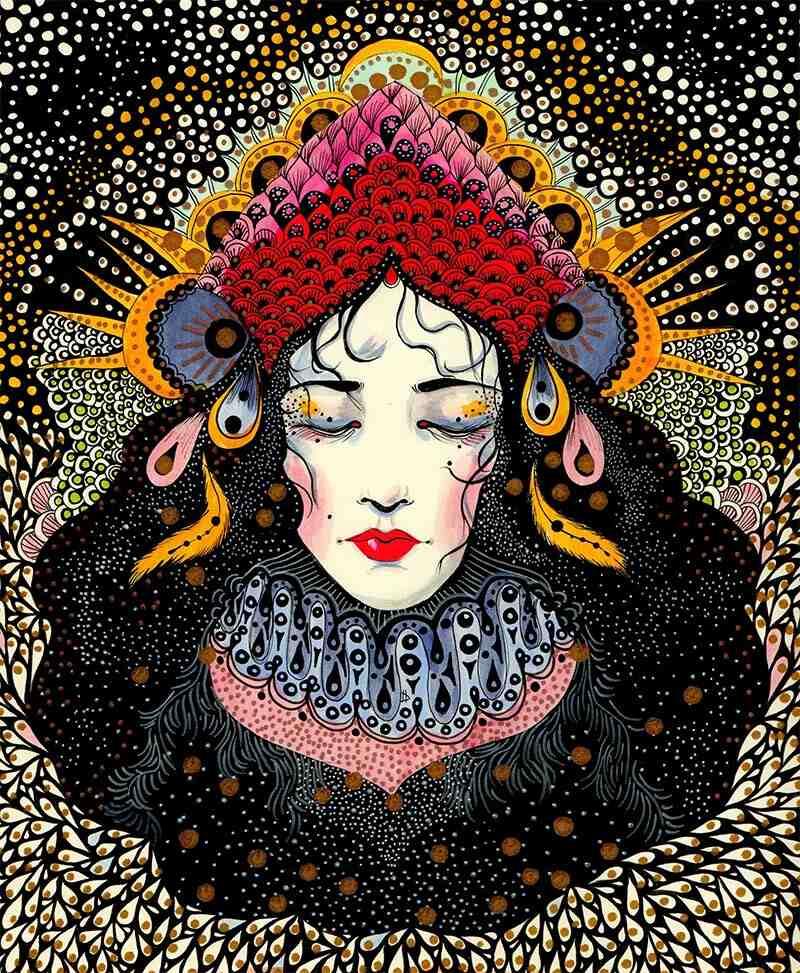 Daria Hlazatova art