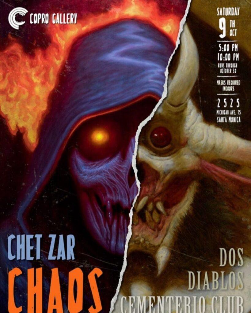Dos Diablos & Chet Zar Solo Shows @ Copro Gallery