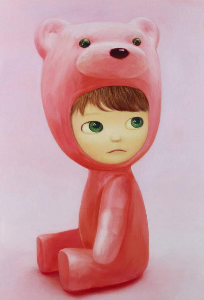 Mayuka-Yamamoto-Sitting-Pink-Bear-Boy