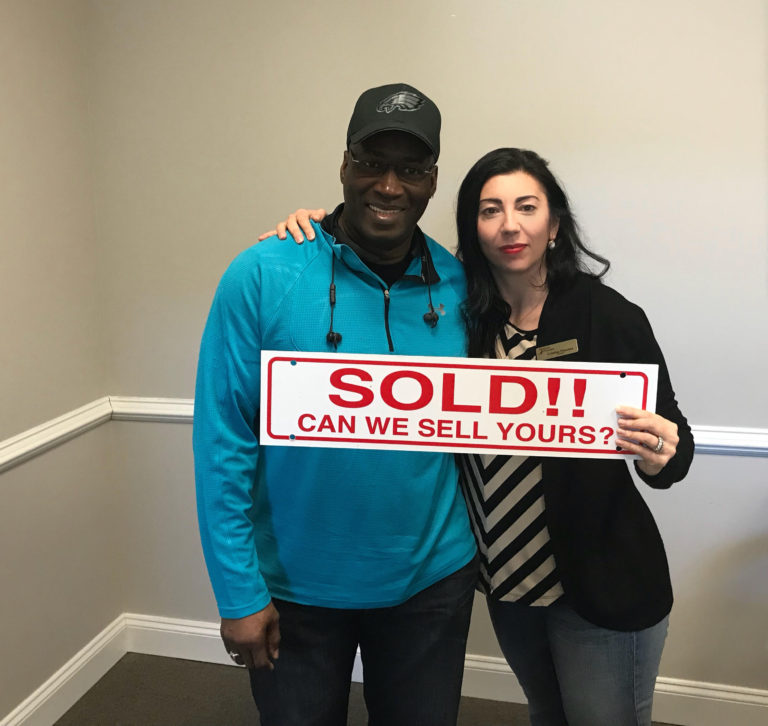 Seller Johnnie S. at Settlement - Odion Ln VA 22192