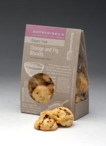Gluten Free Orange and Fig Biscuits