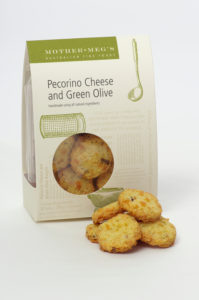 Pecorino and Green Olive Cheese Biscuits