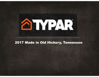 Typar Made in Old Hickory Booklet