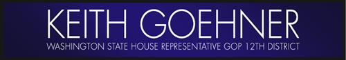 Keith Goehner | 12th District Representative | GOP Logo