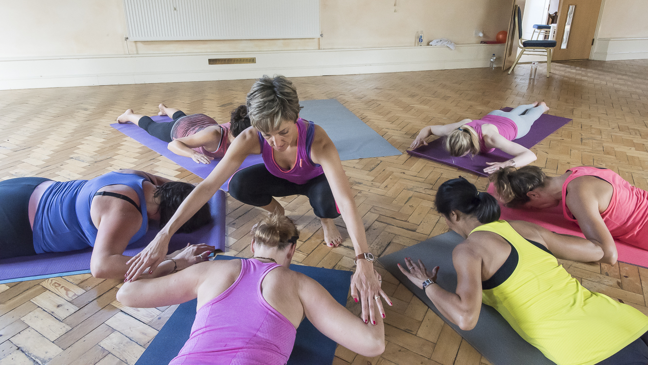 Pilates page footer