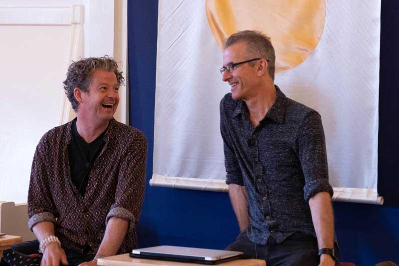 Martin Aylward and Mark Coleman