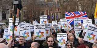 In Photos: Britain says no to Antisemitism