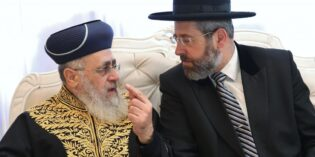 "Coronavirus-Chief Rabbi ruling: ""Forbidden to attend synagogue"""