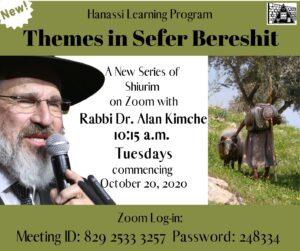 Rabbi Kimche – teaching Bereshit