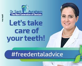 Dr. Sarit Avraham – Take care of your teeth!