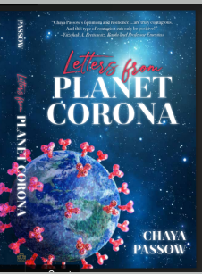 Chaya Passow's new book : Letters from planet corona
