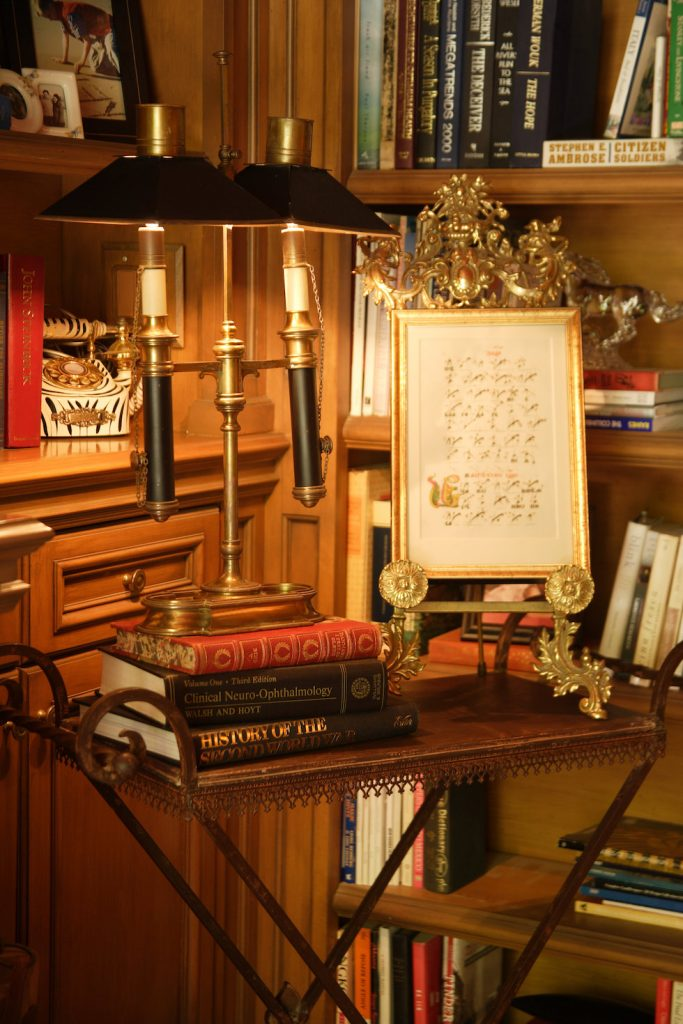 Sophisticated Study by KeyVision Interiors