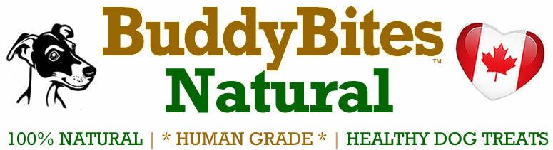 Buddy Bites Natural Dog & Cat Treats Logo