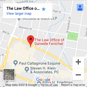 The Law Office of Danielle Fenichel Map