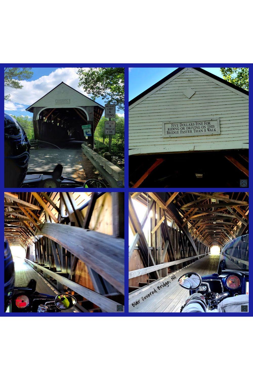 Blair Covered Bridge-A Beautiful Covered Bridge in Campton NH