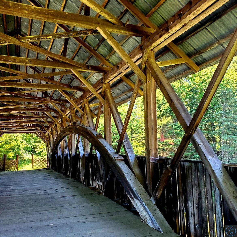 Pittsburg-Clarksville Covered Bridge-Bacon Bridge-A beautiful Covered Bridge in NH