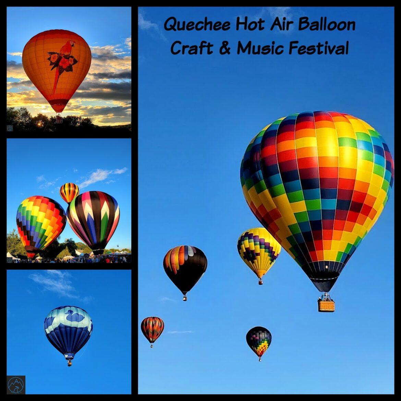 Quechee Hot Air Balloon, Craft, & Music Festival