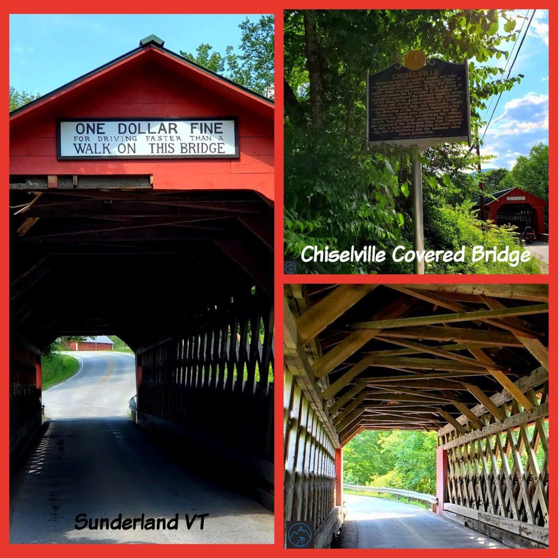 Chiselville Covered Bridge-Sunderland Vermont