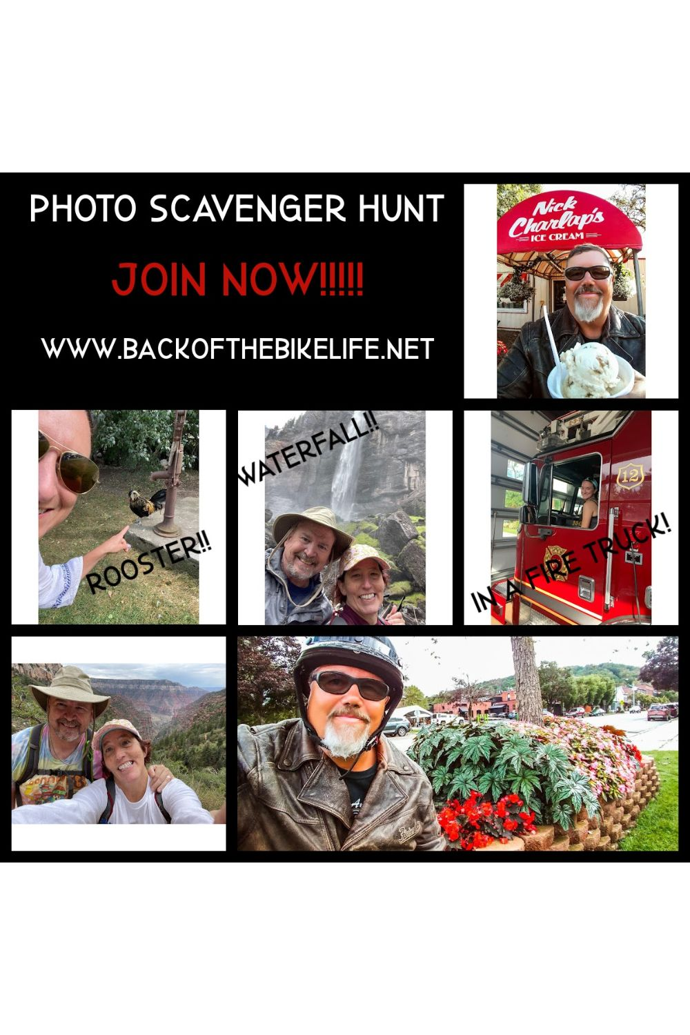 Check Out The Awesome Photo Scavenger Hunt Contest Photos!