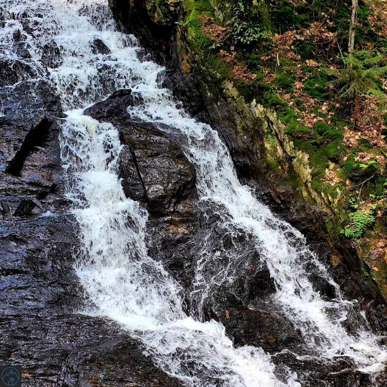 Thundering Falls-A Beautiful Vermont Waterfall-Photo Gallery