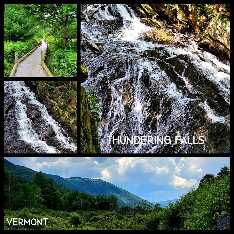 Thundering Falls -A Beautiful Waterfall on the Vermont Appalachian Trail!