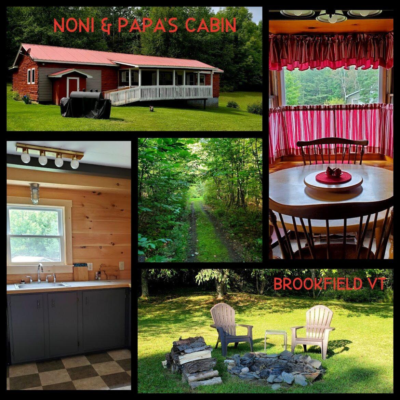 Noni & Papa's Beautiful, Rustic Cabin