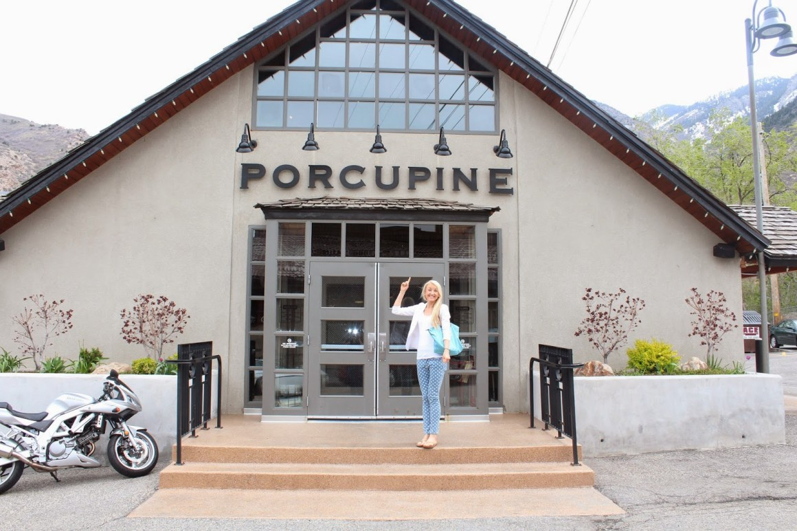 you can't go to salt lake without eating at porcupine grille