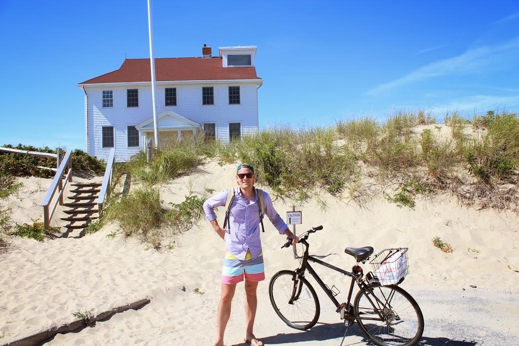 cape cod by bike