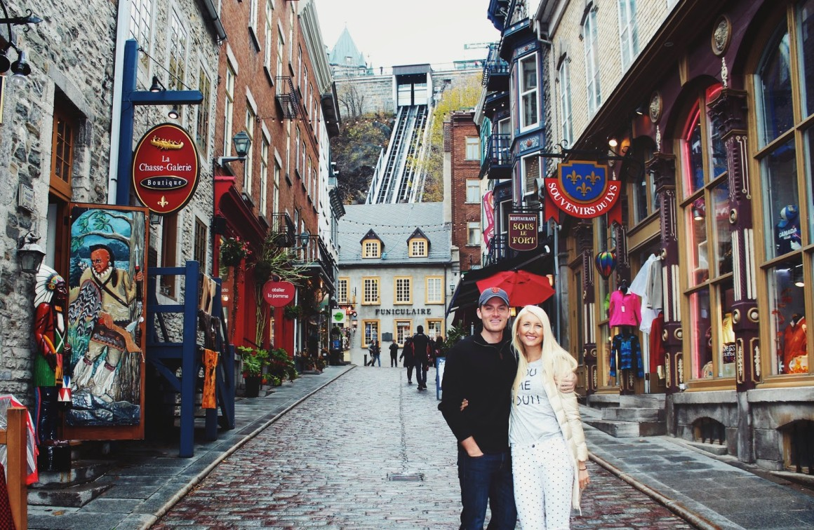 falling in love with quebec city
