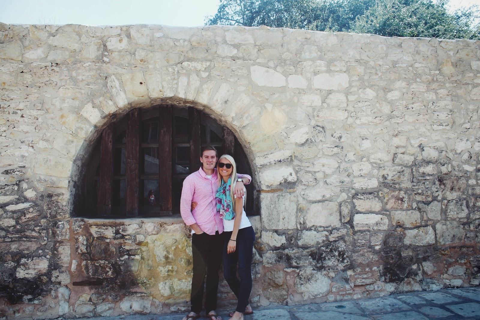 a stop through san antonio, texas