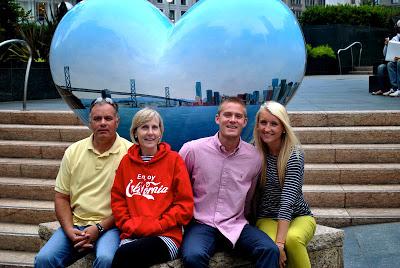chase's parents visit